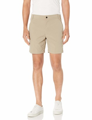 "Amazon Essentials Men's Standard Slim-Fit Hybrid Tech 7"" Short"
