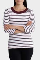 Regatta Essential Duo Stripe 3/4 Sleeve Tee