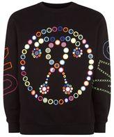 Moschino Embroidered Mirror Sweatshirt