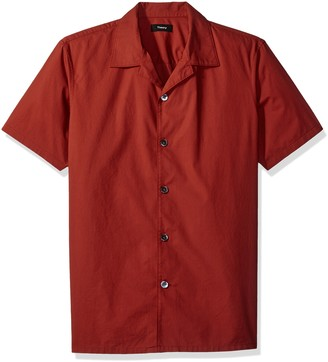 Theory Men's Havana Np Rip Stop 50's Shirt