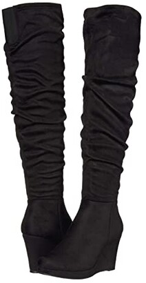 Chinese Laundry Larisa (Black Suedette) Women's Boots