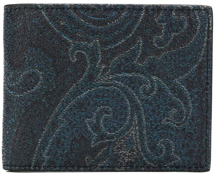 Etro paisley card holder