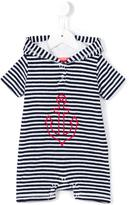 Sunuva - 'Anchor' towelling onesie - kids - Cotton/Polyester - 9-12 mth