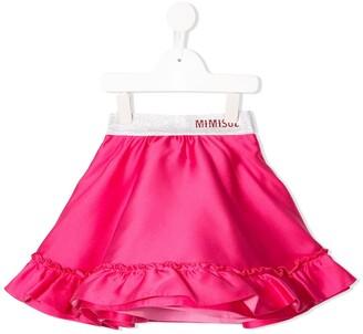 Mi Mi Sol Frill Trimmed Skirt