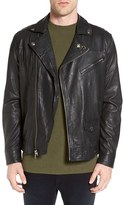 Obey Men's Leather Jacket