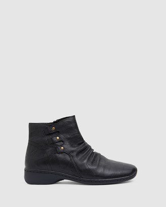 Easy Steps - Women's Black Ankle Boots - Valiant - Size One Size, 36 at The Iconic