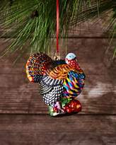 Mackenzie Childs MacKenzie-Childs TURKEY GLASS ORNAMENT