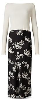 AllSaints Hera Jasmine Two Piece Dress