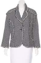 Chanel Fringe-Trimmed Patterned Jacket
