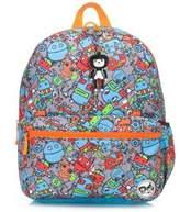 Babymel BabyMelTM Zip & Zoe Junior Robots Backpack in Blue