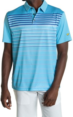Jack Nicklaus Diffused Stripe Golf Polo