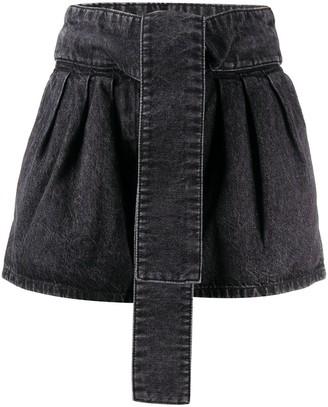 IRO High-Waisted Denim Shorts