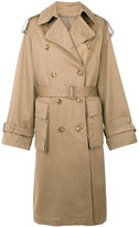 Juun.J double breasted trench coat