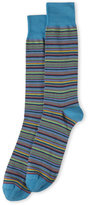 Lorenzo Uomo Thin Stripe Socks