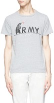 Remi Relief 'Army' bear print T-shirt