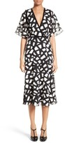 Yigal Azrouel Women's Crocodile Fil Coupe Midi Dress