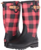 Chooka Lumber Buffalo Plaid Rain Boot
