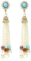 Ben-Amun Byzantine Pearl Tassel Earrings