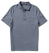 Michael Kors Liquid Solid Short-Sleeve Polo Shirt