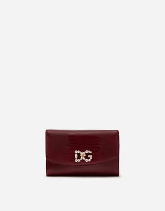 Dolce & Gabbana Iguana Print Microbag