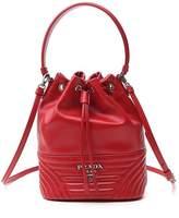 Prada Logo Drawstring Bucket Bag