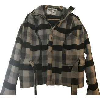 Henrik Vibskov Grey Wool Jackets