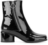 Marc Jacobs ankle boots - women - Leather/Patent Leather/rubber - 36