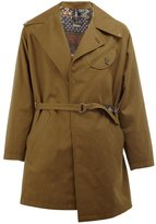 Herno x Pierre-Louis Mascia belted coat - men - Silk/Cotton/Linen/Flax/Polyester - 48