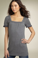 Square Neck Knit Tunic