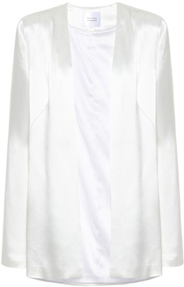 Galvan Blenheim satin bridal jacket