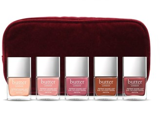 Butter London Warm Regards 5-Piece Patent Shine 10X Nail Lacquer Collection