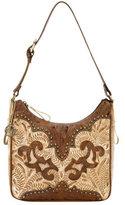 American West Women's Annie's Secret Zip-Top Shoulder Bag
