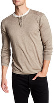 Autumn Cashmere Hidden Button Up Henley Shirt
