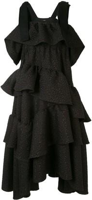 GOEN.J Tiered Midi Dress