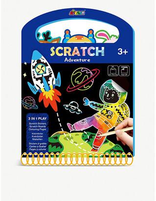 Selfridges Scratch Adventure activity book