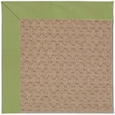 Zeppelin Machine Tufted Green Indoor/Outdoor Area Rug Longshore Tides Rug Size: Rectangle 12' x 15'