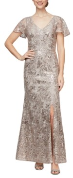 Alex Evenings Sequinned Gown