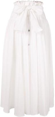Maryam Nassir Zadeh Carlita flared skirt