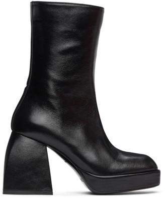 Nodaleto Black Bulla Corta Boots