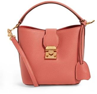 Mark Cross Mini Leather Murphy Bucket Bag