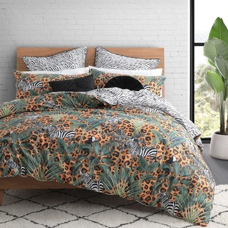 Logan & Mason Zulu Animal King Bed Quilt Cover Set 245 x 210cm