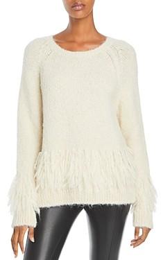 Cinq à Sept Izabella Fringed Sweater