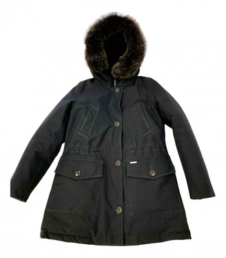 Woolrich Blue Synthetic Coats