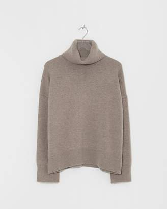 Big Chill Co Essentials Taupe Turtleneck Sweater