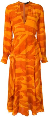 Andrea Marques Silk Dress
