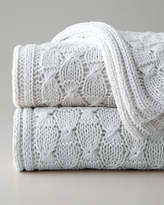 Sferra Charlotte Knit Throw