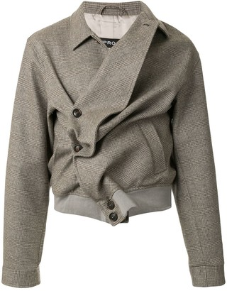 Y/Project Asymmetric Woven Jacket