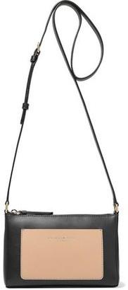 Donna Karan Two-tone Leather Shoulder Bag