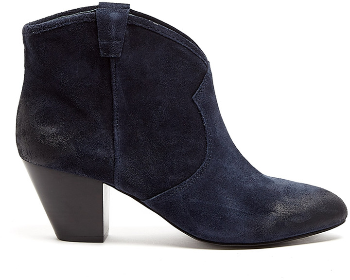 Ash Midnight And Black Suede Jalouse Boot