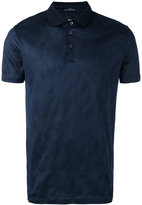 HUGO BOSS textured polo shirt - men - Cotton - M